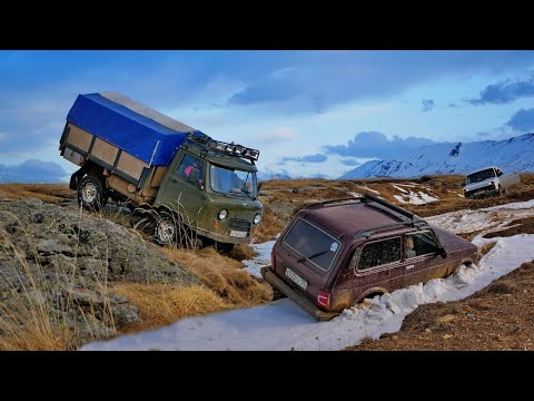UAZ Loaf V6 automatic transmission, Tadpole, Patriot - to the Labyrinth, contrary to everything!