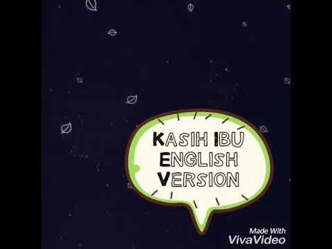 Cover - Kasih Ibu (English Version)