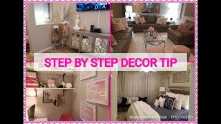 💗NEW APARTMENT EDITION 💗 || Decor Tips ||  PART 1  || Ideas ANYONE  Can Use