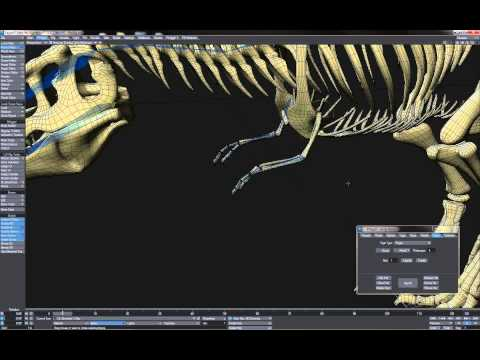 Rigging Walkthrough - TRex