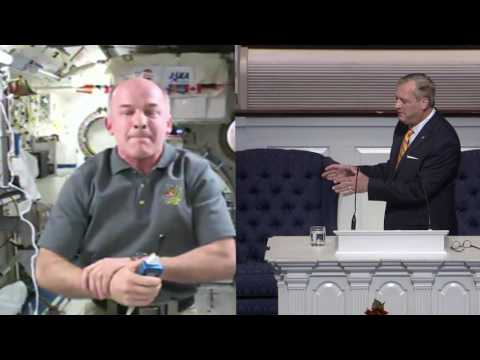 A Conversation with Astronaut, Col. Jeff Williams