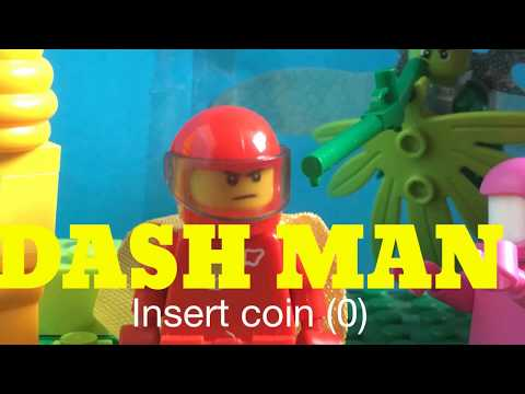 DASH MAN; A LIStopmotion Productions Game