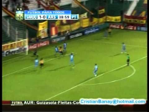 Sarmiento de Resistencia 2 Arsenal 1 Copa Argentina 2011-12 Los goles (21/3/2012)