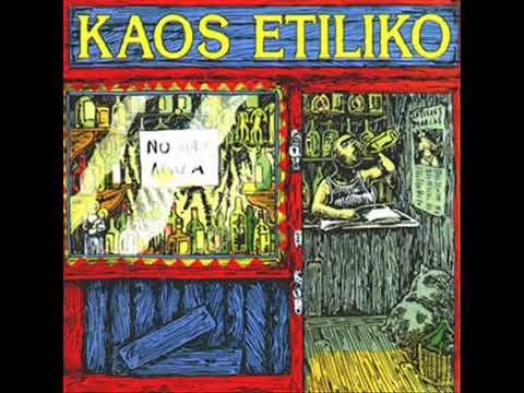 Kaos Etiliko - No Hay Agua (Álbum Completo) - Camisetas Punk