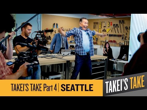 George Takei: Microsoft's Garage- Eye-Gaze, Skype Translator & Hackathons | Takei's Take Seattle