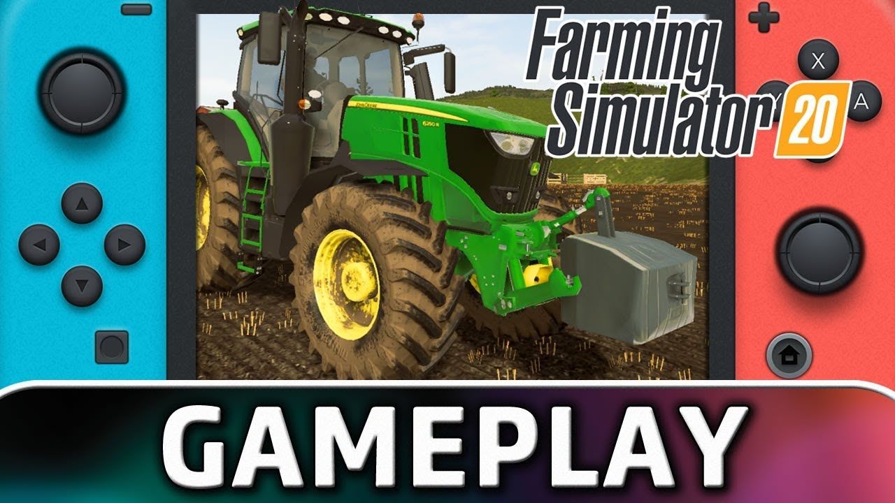 Farming Simulator 20 | First 15 Minutes on Nintendo Switch