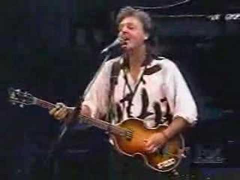 Paul McCartney - Paperback Writer LIVE 1993