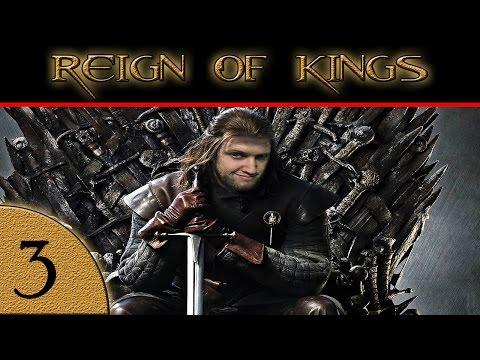 Reign of Kings w/ Joost Kivits & Bulltramaxx | KING ZALZAR! | Part 3 Gameplay w/ facecam