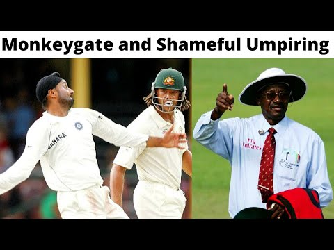 The Story Of Sydney Test 2008 - Monkeygate Scandal And Shameful Umpiring