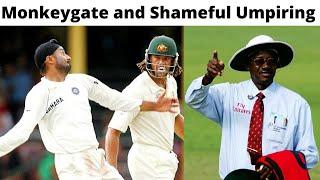The Story of Sydney Test 2008 - Monkeygate Scandal and Shameful Umpiring