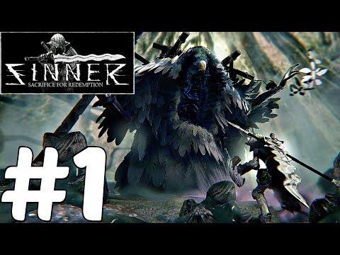 SINNER Sacrifice For Redemption - Gameplay Walkthrough Part 1 - Full Demo (Dark Souls Inspired)