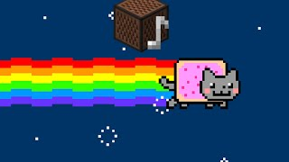 Nyan Cat Theme Song - Minecraft Noteblocks