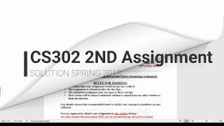 CS302-DLD | VU Assignment no 2 Solution Spring 2018 | Karnaugh map Simplification | SSWT