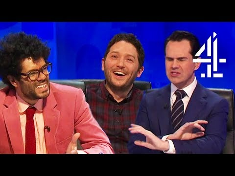 Richard Ayoade Attempts to WALK OUT After Being Teased for Losing!  8 Out of 10 Cats Does Countdown