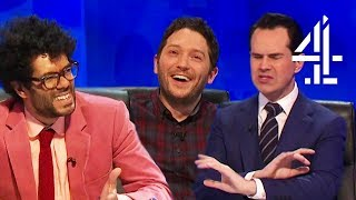 Richard Ayoade Attempts to WALK OUT After Being Teased for Losing! | 8 Out of 10 Cats Does Countdown