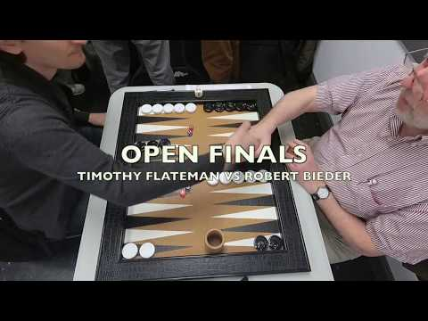 Backgammon Tournament in Harlem Final Match