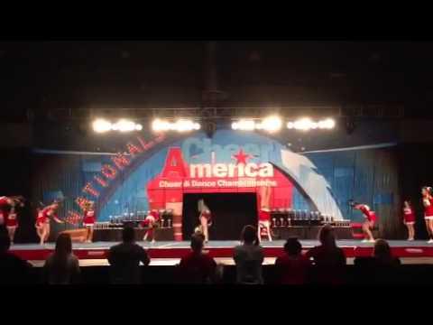 Tomball High School Cheer Red Team  Varsity Advanced 2013