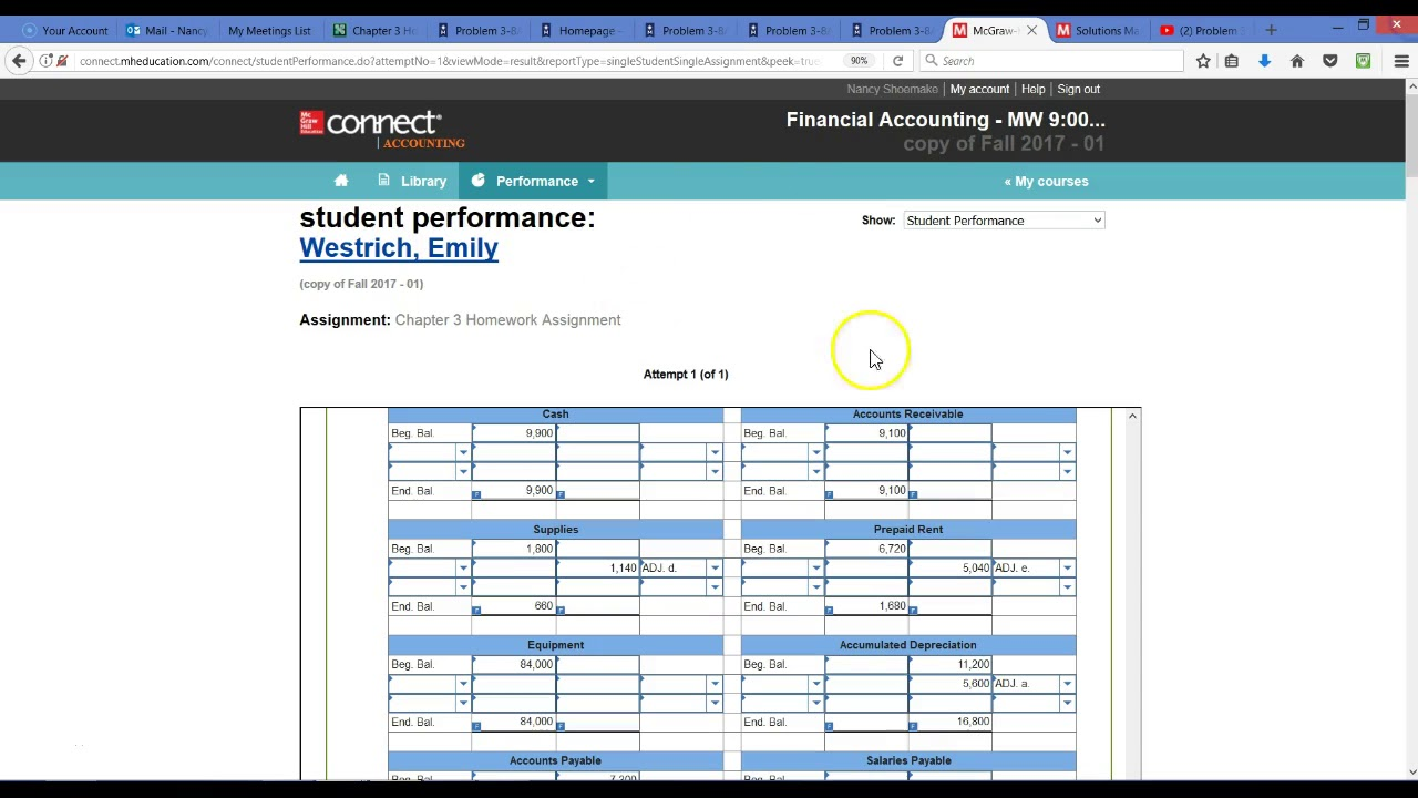 Mcgraw Hill Connect Accounting Answers Chapter 5