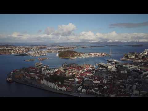 DJI Mavic Pro in Stavanger, Norway
