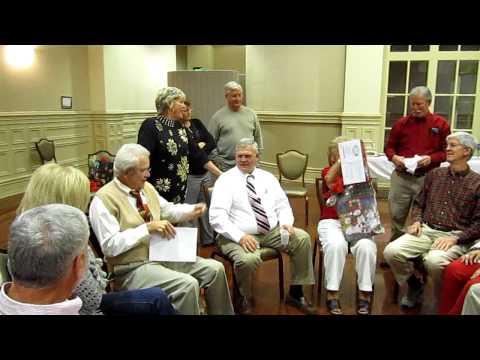 Christmas game---musical gift exchange game