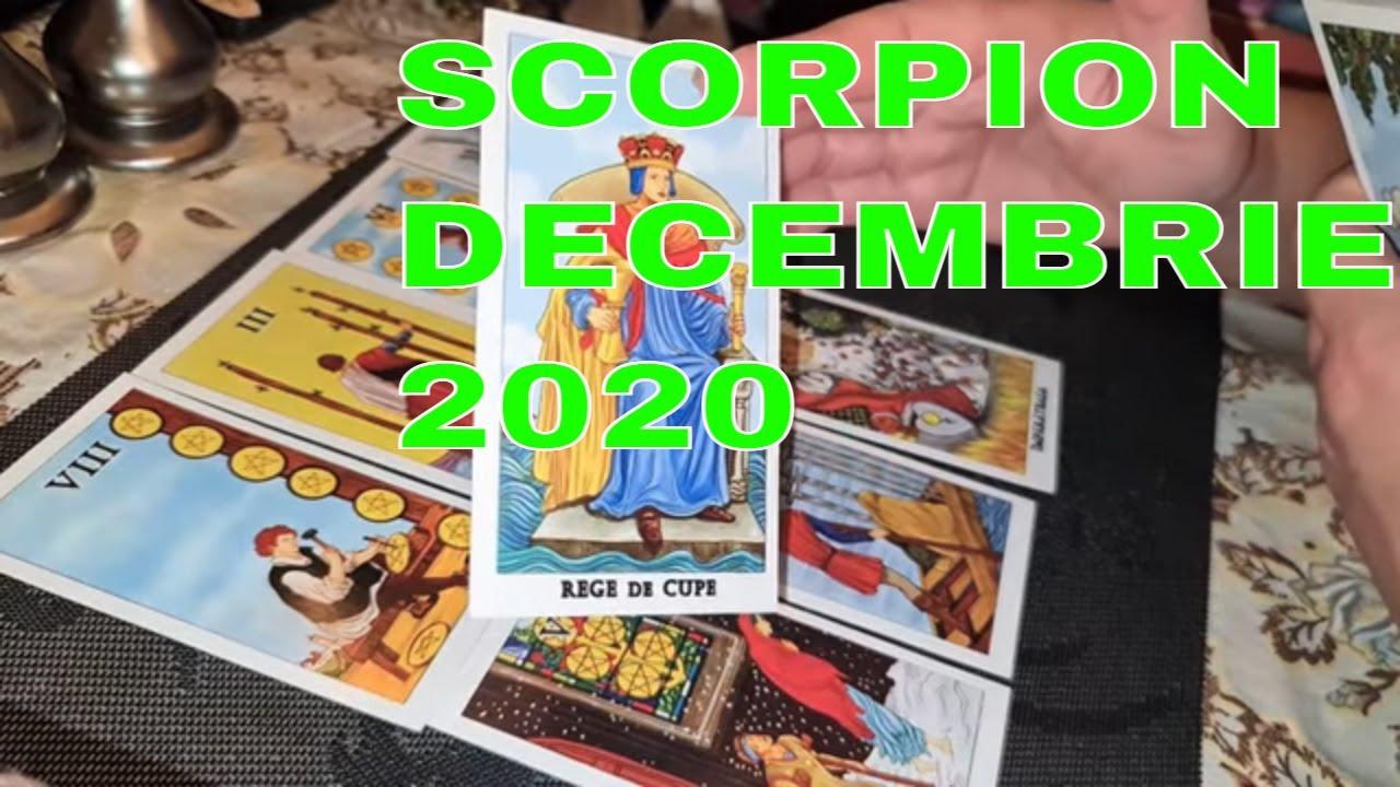 ♏Horoscop Zodia SCORPION / DECEMBRIE 2020 / Previziuni Tarot ♏