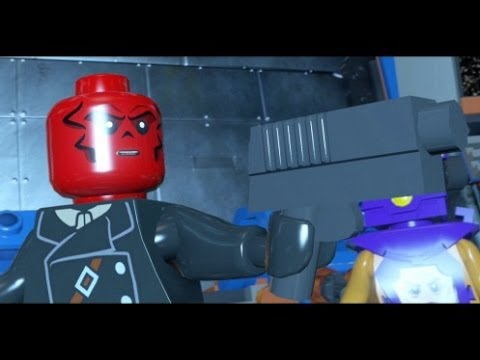 LEGO Marvel Super Heroes (PS4) - Red Skull Boss Fight ...
