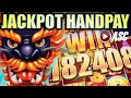 ★JACKPOT HANDPAY!★ 5 DRAGONS GRAND 🐲 HUGE BIG WIN AS IT HAPPENS! Slot Machine Bonus [REPOST]
