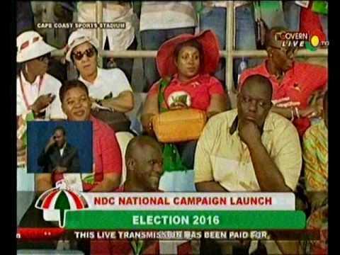 Prez Mahama's speech at the NDC campaign launch [Full]  - 14/8/2016