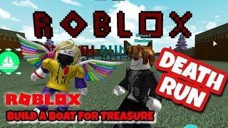DEATH RUN - OBBY - Roblox - Build a Boat for Treasure