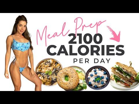 MEAL PREP | 2100 CALORIES!