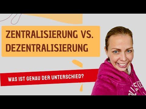 Zentralisierung Oder Dezentralisierung?