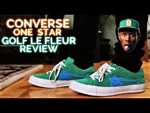 97a9a043ab0a Converse ONE STAR GOLF LE FLEUR 2.0 Review (TYLER