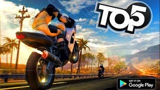 Top 5 der besten Motorrad-Rennspiele (Android / iOS) 2018