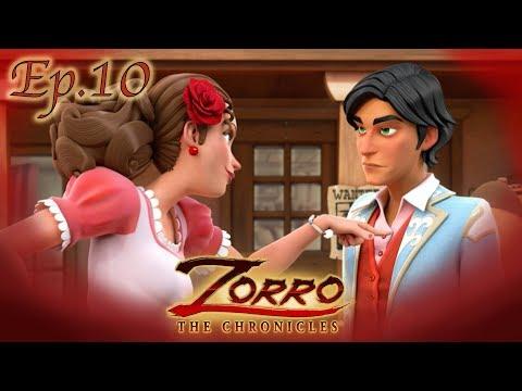 IL PALADINO DEI PEONES | Le cronache di Zorro Episodio 10 |Cartoni di supereroi