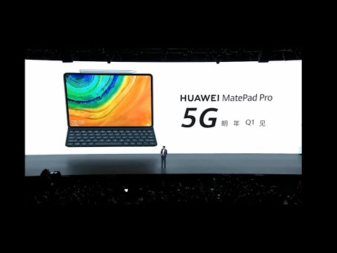 Huawei MatePad Pro 5G Launch Event in 3 Minutes