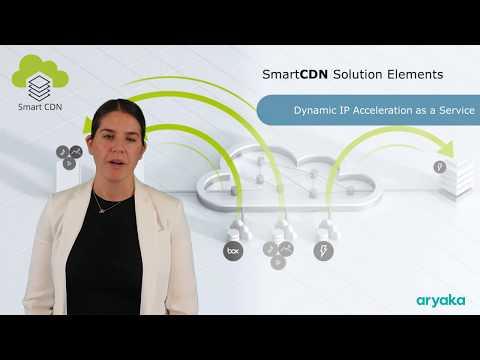 SmartCDN | Dynamic IP App Acceleration as-a-Service | Aryaka