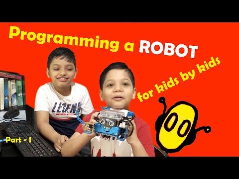 mBot programming for
