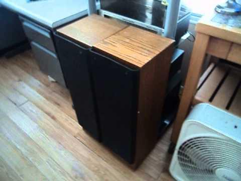 testing ads vintage speakers