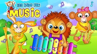 123 kids fun music ios and android app for toddlers and preschoolers