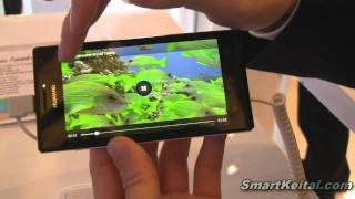 Huawei Ascend P1 S - world's thinnest smartphone at 6.68mm - CES 2012 (Android)