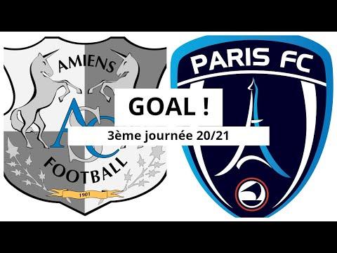 Amiens Paris FC Goals And Highlights