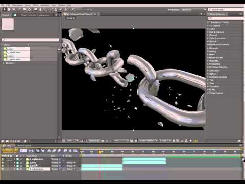 adding alpha chanel from a separate file - adobe after effect cs6