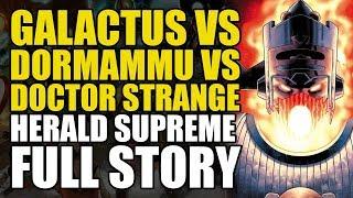 Galactus vs Dormammu vs Doctor Strange: Herald Supreme - Full Story | Comics Explained