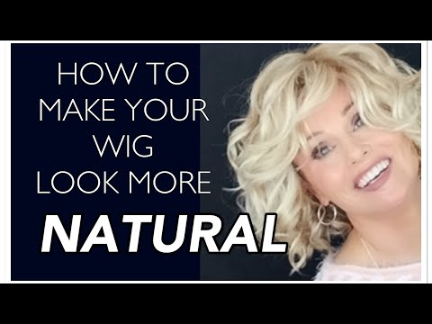 HOW TO Make WIGS LOOK MORE NATURAL  ⭐️⭐️using SIMPLE Techniques!⭐️⭐️