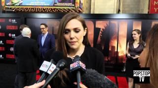Godzilla Film Premiere: Elizabeth Olsen, Bryan Cranston & More!