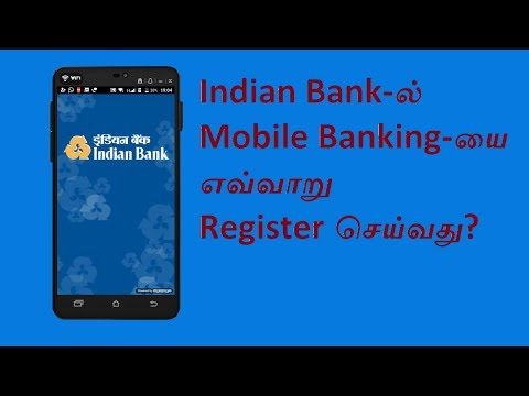 How to Open Indian Bank Mobile Banking (IndPay) app in Tamil | Webtech