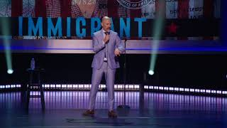 """Travel Ban 2.0"" from Netflix special ""Immigrant"" - MAZ JOBRANI"
