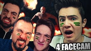 4 FACECAM!! - EKİPLE HAYATTA KAL ! #3