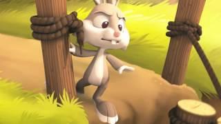 Мульт про зайца. Прикольный мульт для детей.