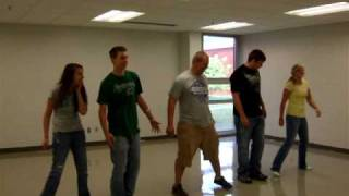 Gibby's Group performs to Twist and Shout